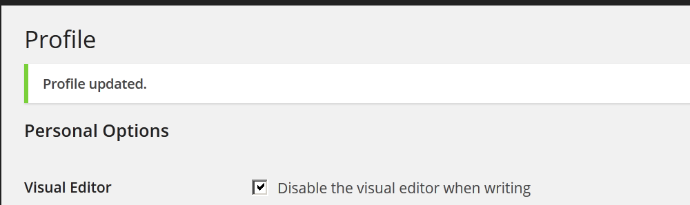 disable_the_visual_editor_when_writing