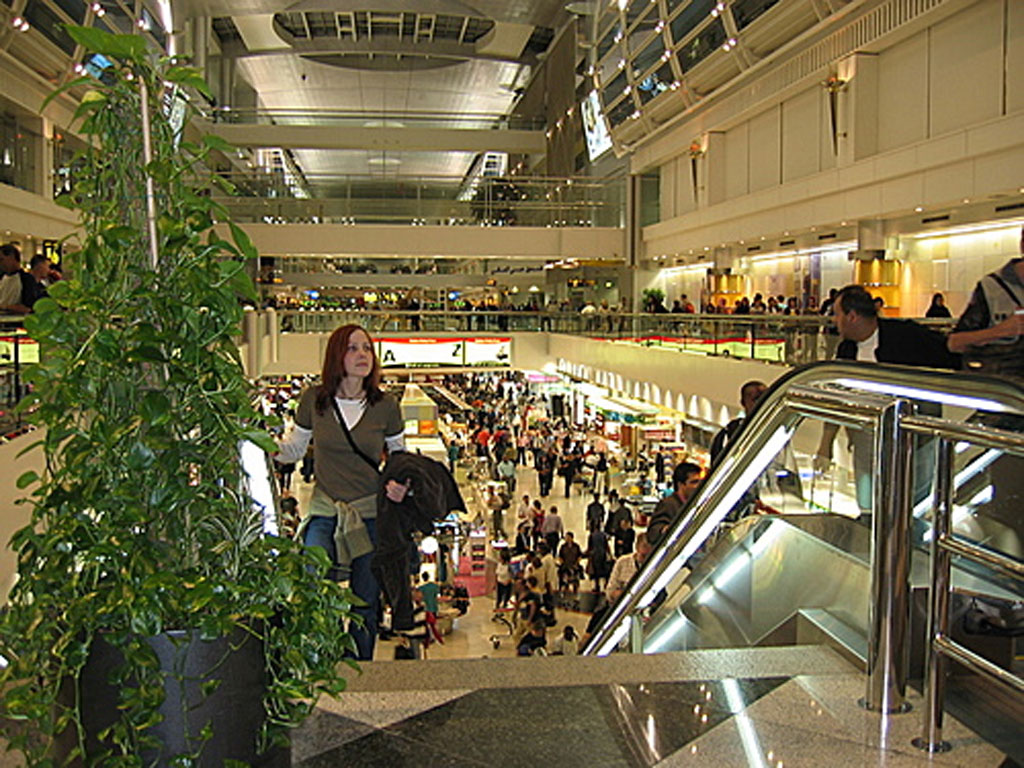 Dubai Airport Arrival in United Arab Emirates - Airport Terminal 3