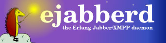 Ejabberd server erlang logo hedgehog