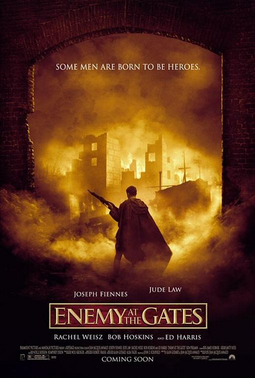 Enemy At The Gates A Film About The World War Ii Movie
