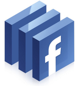 Facebook sliced Logo Avatar 256x256