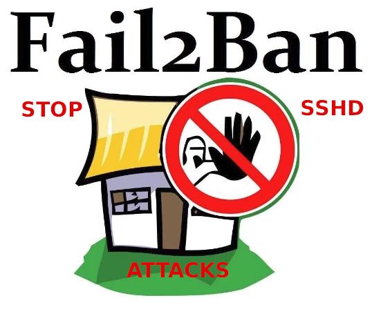 Fail2ban stop restrict ssh bruteforce authentication attempt attacks
