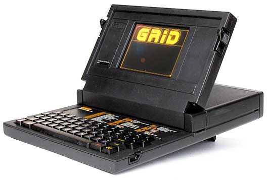 First notebook in World ever the COMPAQ grid Compass 1101