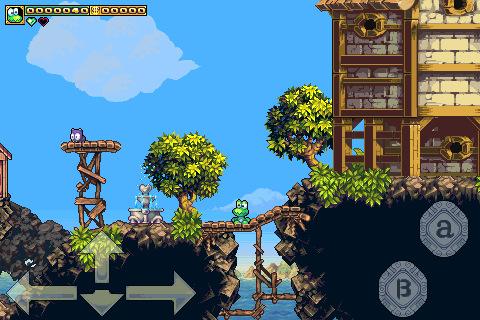 Frogatto Free Software game wood screenshot