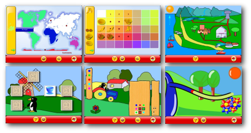 Gcompris various games for develop your kid intellect