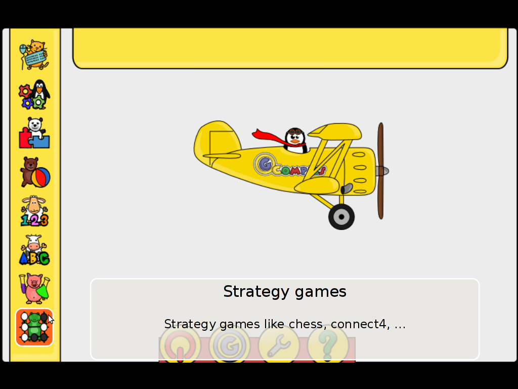 Gcompris strategy games