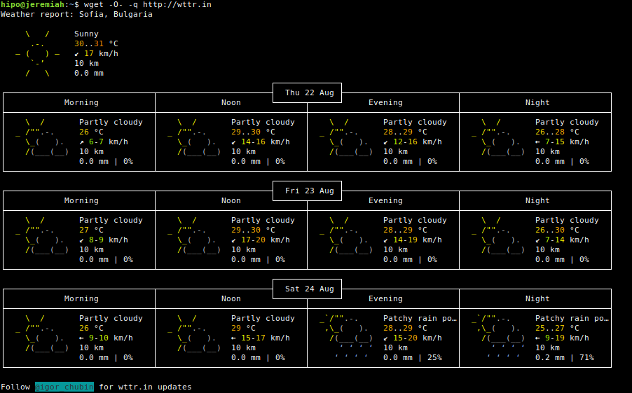 getting-weather-forecast-on-linux-terminal-console-with-wget-command
