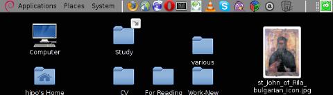 GNOME desktop area chop screenshot with gnome-screenshot on my home Debian Linux