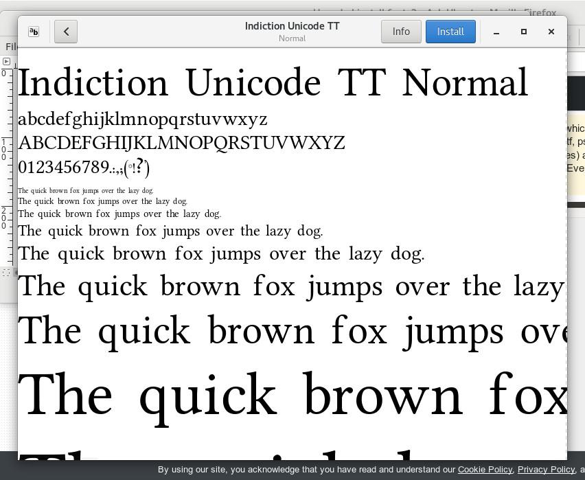 gnome-font-viewer-program-gnu-linux-screenshot