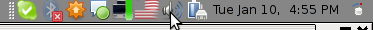 Sound Preferences GNOME Debian GNU / Linux screenshot