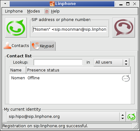 good working skype  inux alternative to proprietary skype voice video chat program - linphone rulez