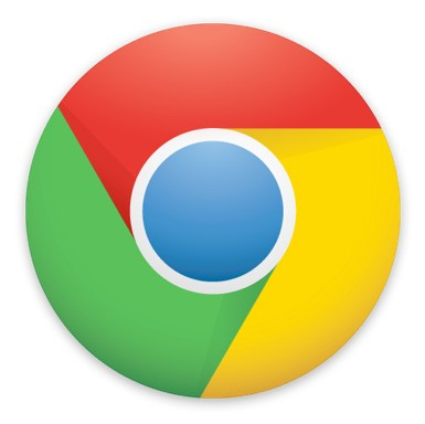 Google Web Chrome Browser Logo 4 colors HBDI microsoft flag
