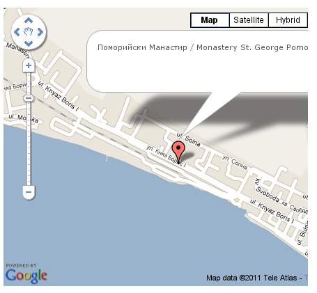 Google Maps plugin for Joomla screenshot