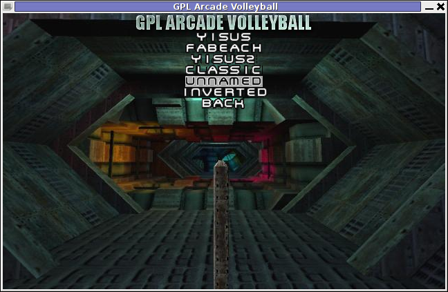 GPL Arcade Volleyball Unnamed Theme Screenshot
