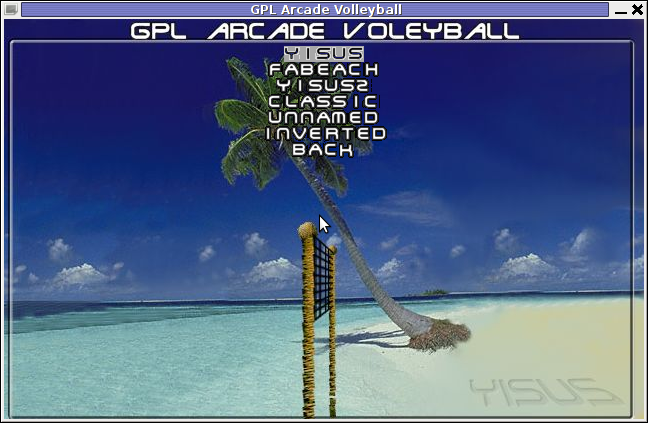 Screenshot GPL Arcade VolleyBall Yisus