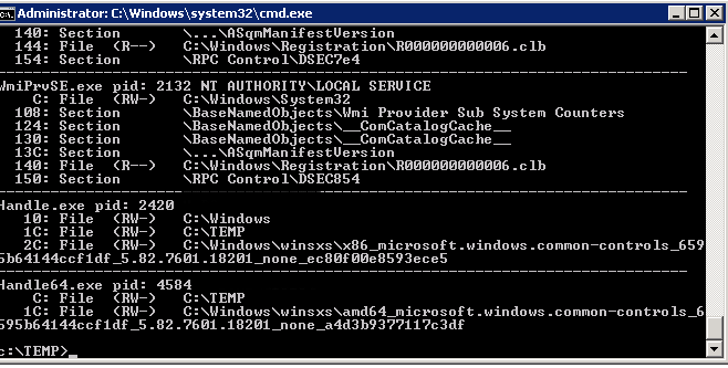handle-command-part-of-sysinternals-witout-any-arguments-display-opened-locked-files-in-windows