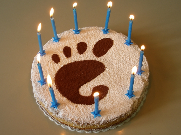 Happy 15 birthday to GNOME project