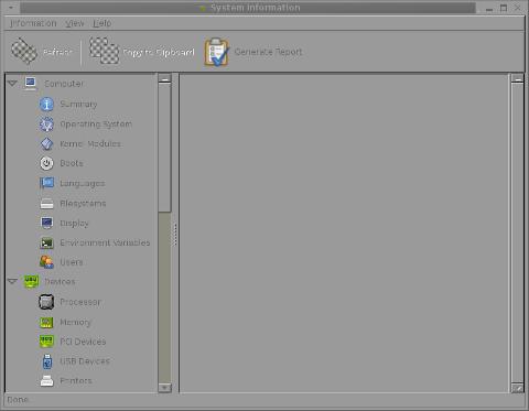 hardinfo gnome screenshot debian  gnu / linux