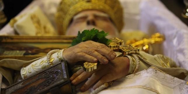 His all Holiness Patriarch Maxim, Patriarch of Bulgarian Orthodox Church's Farewell Church Service