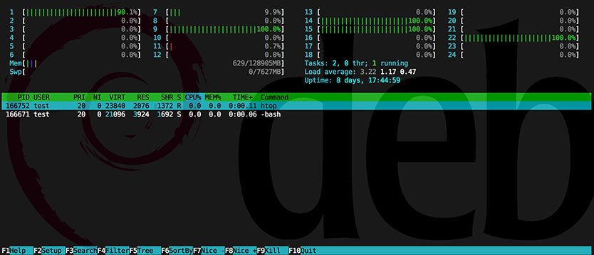 htop_screenshot_on_hideid_showing-only-own-user-credentials-gnu-linux-debian