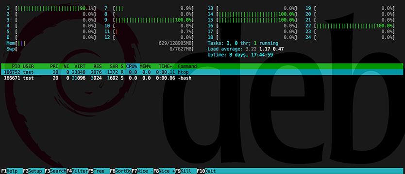 htop_screenshot_on_hideid_showing-only-own-user-credentials-gnu-linux-debian