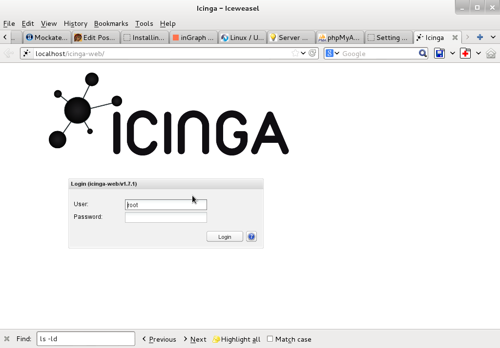Debian Linux: Installing and monitoring servers with Icanga