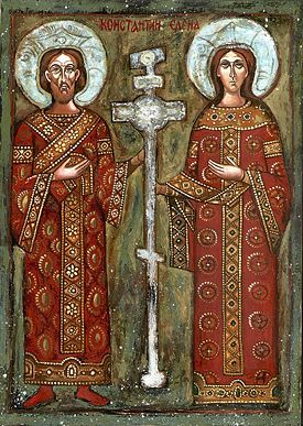 St. Constantine and St. Helena icon
