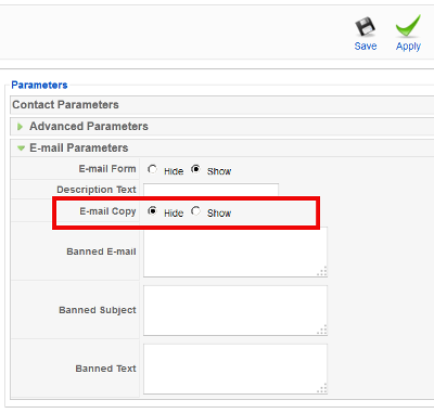 joomla-disable-email-copy-of-this-message-to-your-own-address