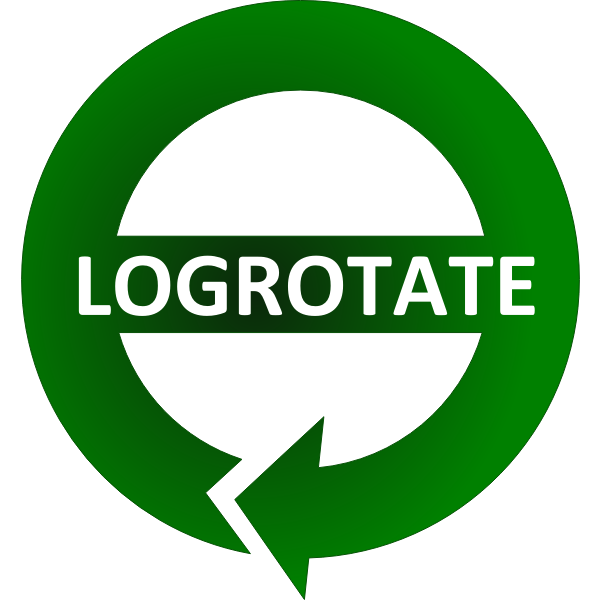 fix logrotate permission issues of newly logrotated files, howto chown chmod logrotate linux logo