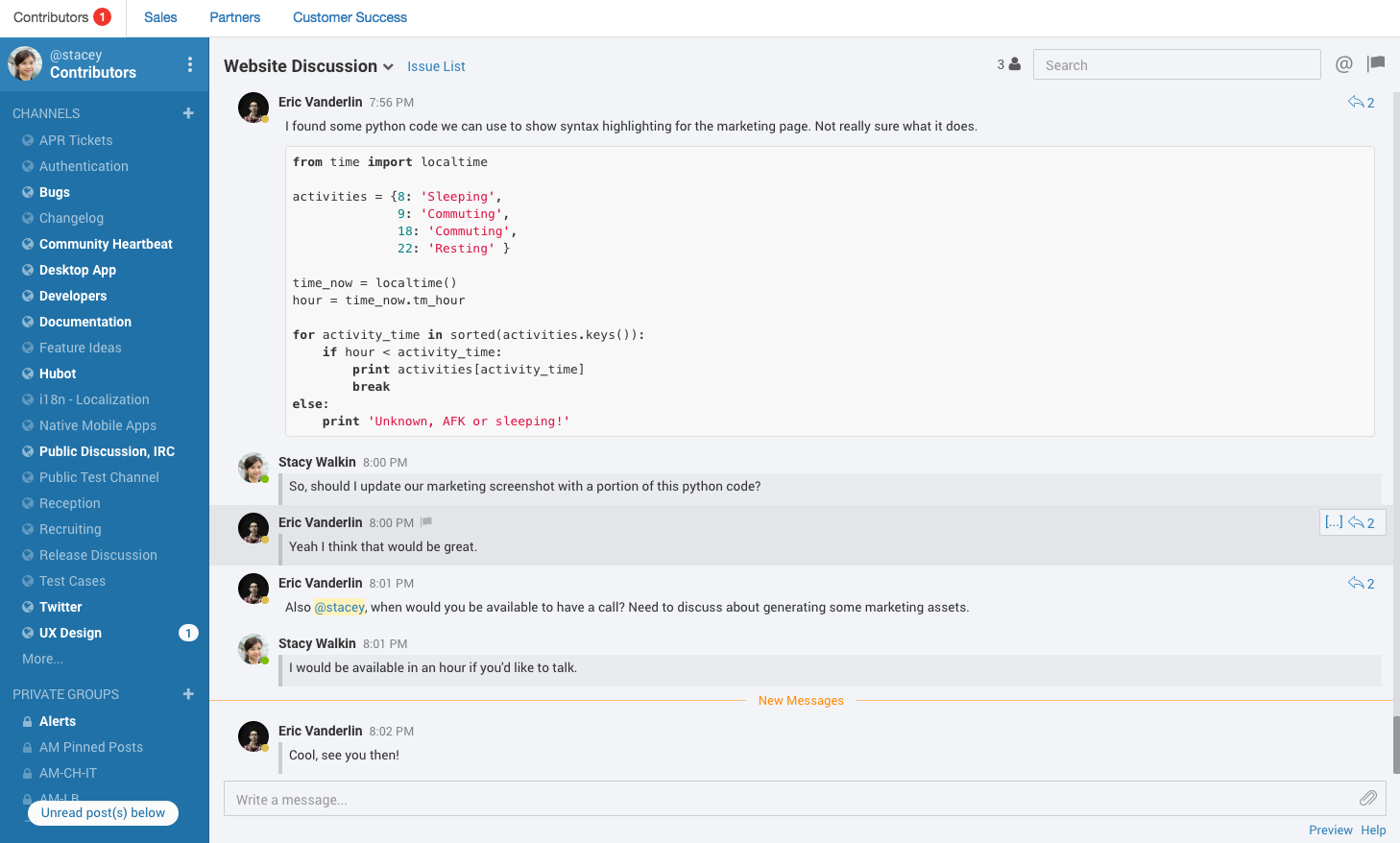 mattermost-linux-client-2-screenshot
