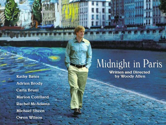 Midnight in Paris Movie Cover 2011 review