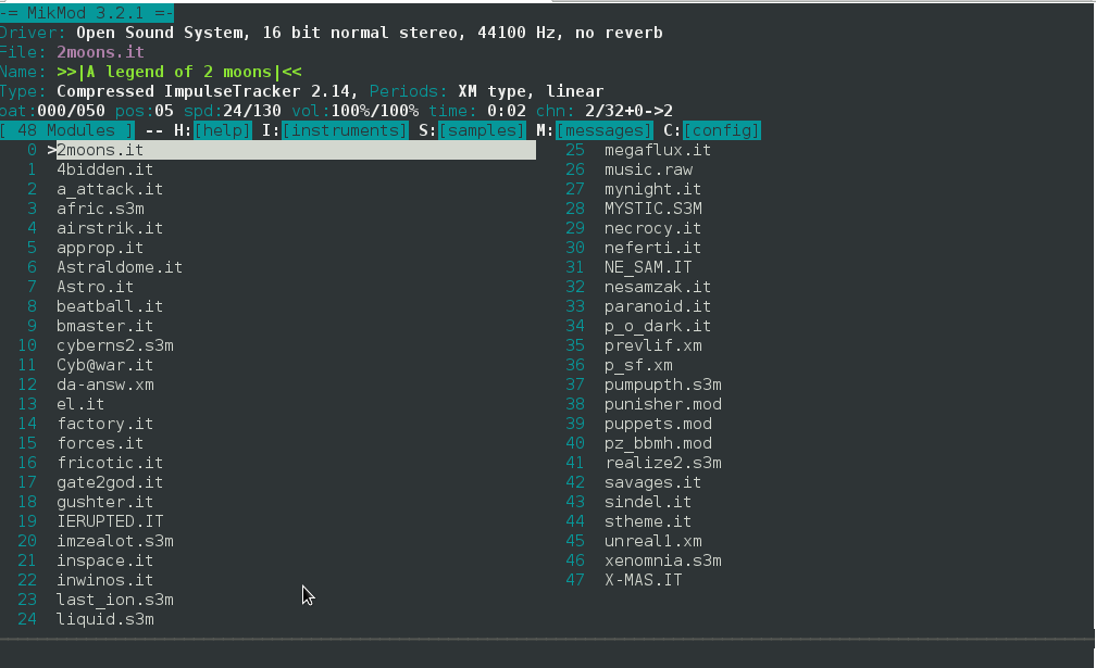 mikmod-console-mod-xm-it-old-school-music-format-player-for-gnu-linux-and-freebsd