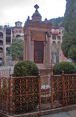 monument-26-Zographou-martyrs-from-the_Latins-Bulgarian-Zograph-monastery-holy-mount-Athos