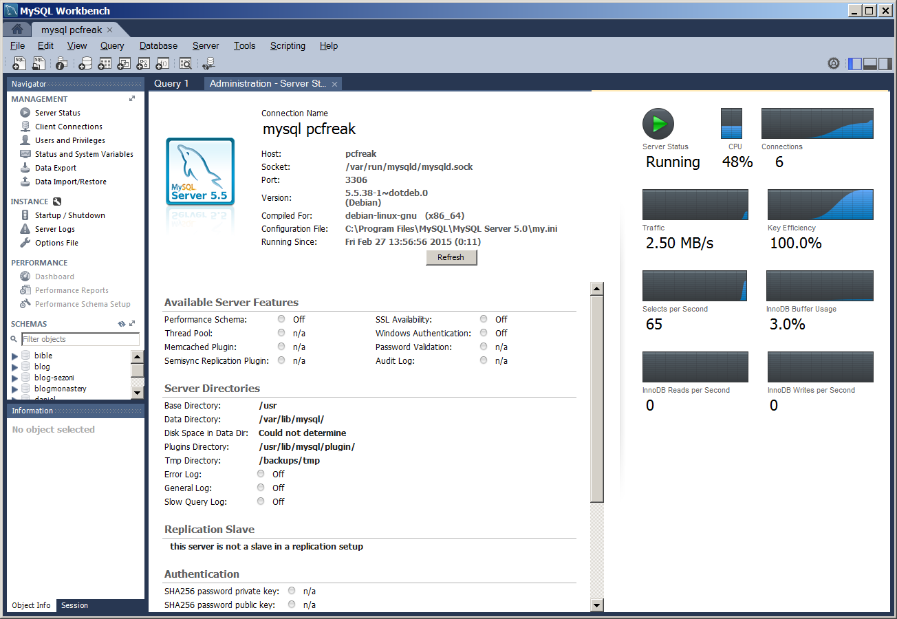 mysql-workbench-database-analysis-and-management-gui-tool-convenient-for-data-migratin-and-queries-screenshot-