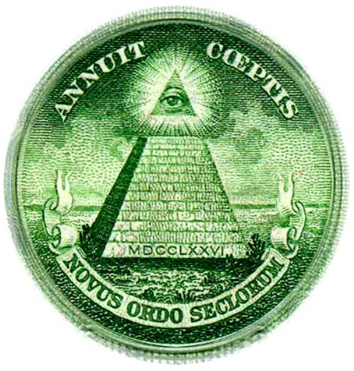 New World Order Dollar eye
