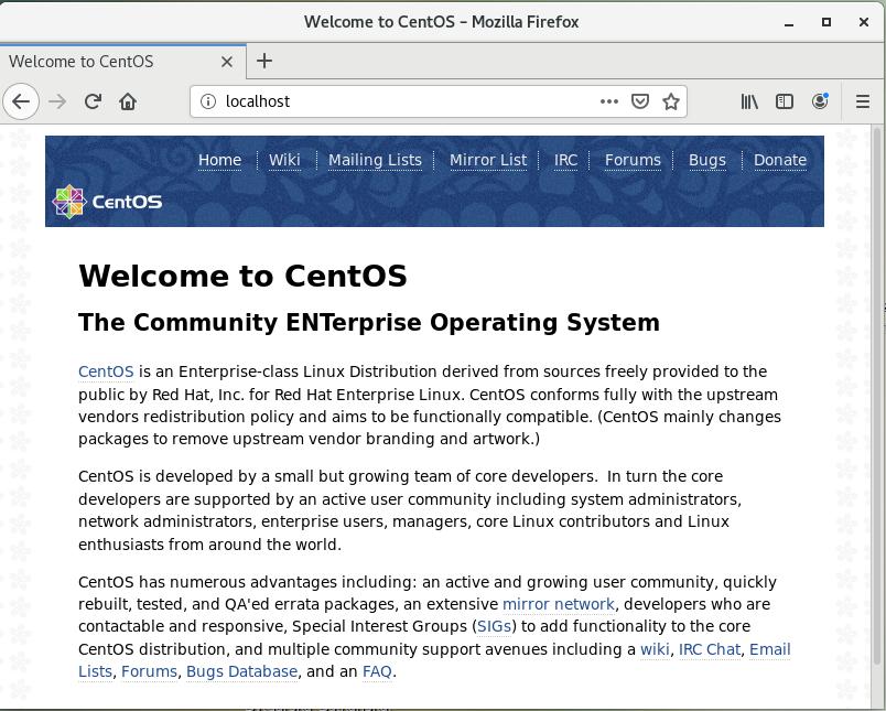nginx-test-default-page-centos-linux-screenshot