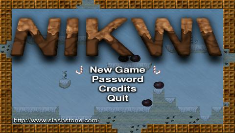 Nikwi Deluxe Linux arcade game Freeware game main screen screenshot