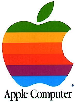 Old Apple Computer/s logo colors of rainbow 4 hbdi colors are there