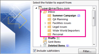 outlook-backup-emails-to-pst-file-howto-4