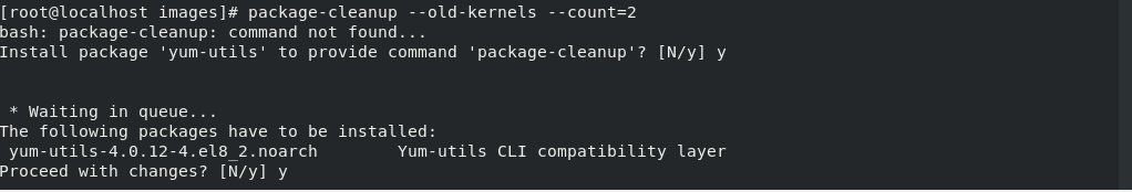 package-cleanup-centos-linux-screenshot-1