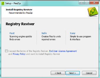 peazip-installation-process-registryreviver-offer