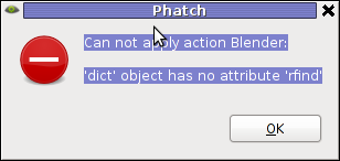 dict object has not attribiture rfind error screenshot my linux