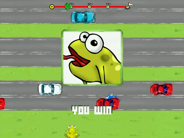 PixFrogger - Atari modern Frog game remake for Linux