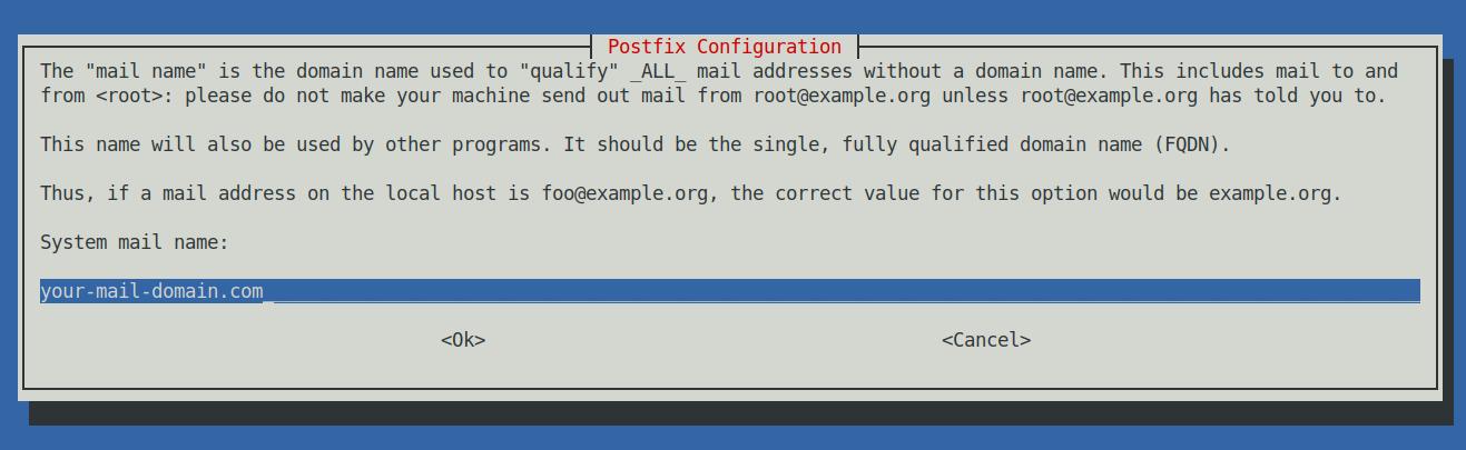 postfix-configuration-debian-linux-screen