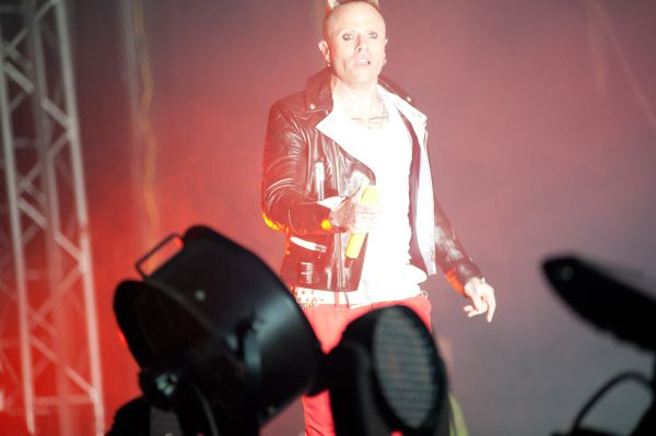Prodigy Vocalist Keith Flinth on main stage spirit of burgas 2012