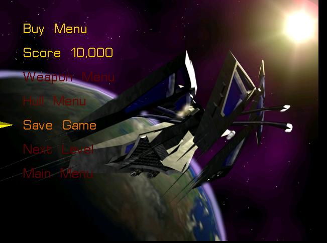 Rafkill Load menu screenshot