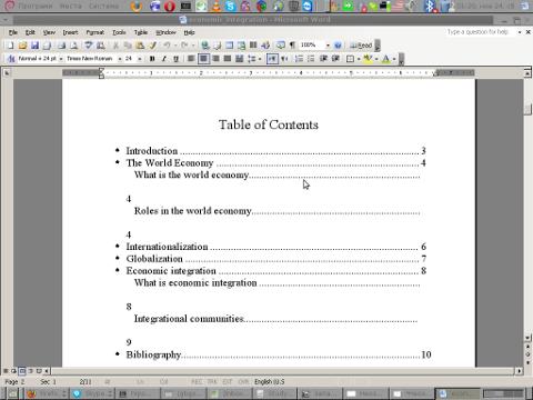 screenshot of random open doc file with microsoft word 2003 nautilus script manager on my Debian GNU / Linux