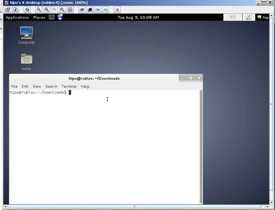 remote-connection-via-tightvnc-to-linux-host-from-windows-7-using-tightvnc-java-client-screenshot