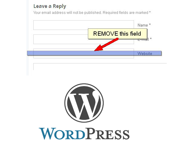 remove-comment-spam-url-field-wordpress-website-or-blog-working-how-to