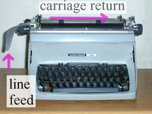 how to find carriage return in unix file